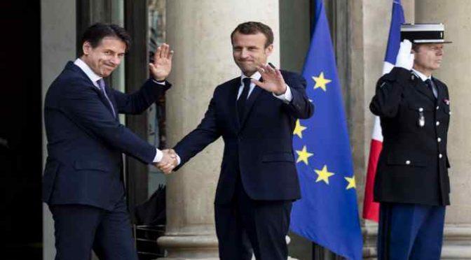 Conte da Macron, i centri di detenzione clandestini saranno in Africa