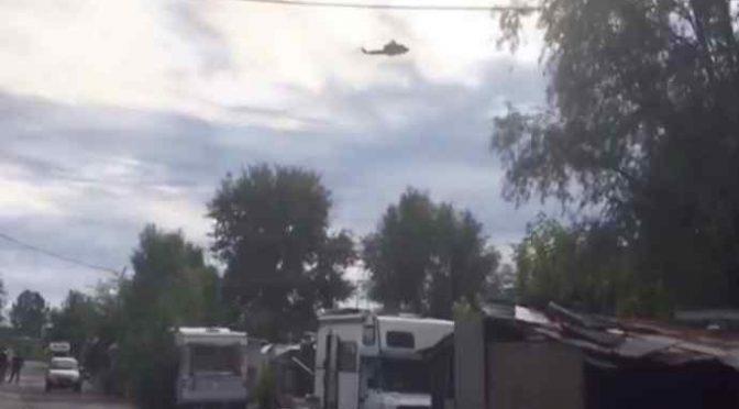 Torino, 100 militari setacciano campo nomadi – VIDEO