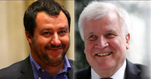 Salvini spacca governo tedesco: rissa tra Merkel e il potente ministro dell'interno