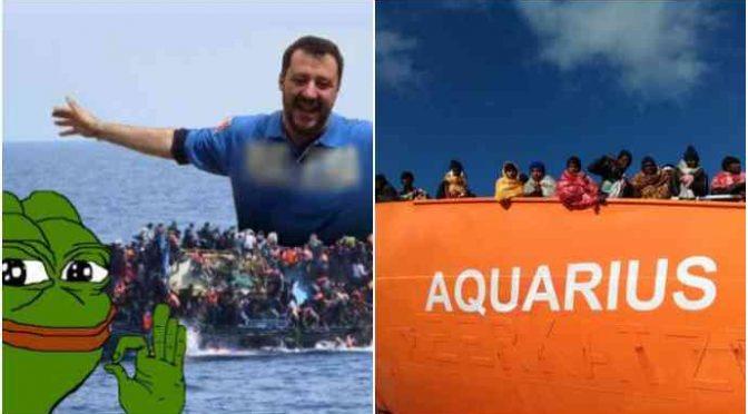 Acquarius, Salvini la fa scortare in Spagna: inviata nave militare