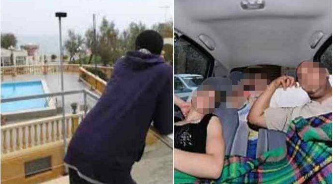 Famiglia sfrattata dorme in auto, 276 profughi in hotel
