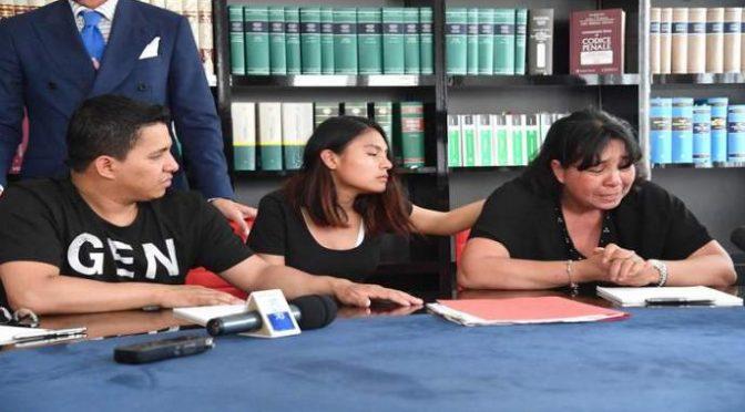 """Madre ecuadoriano ucciso offende poliziotti: """"Pentitevi"""""""