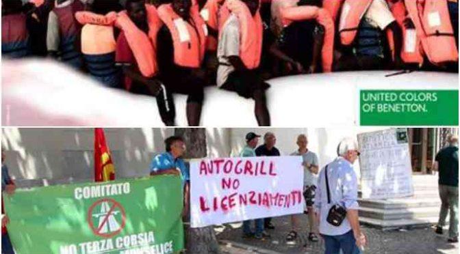 Benetton, la lettera disperata dei dipendenti abbandonati