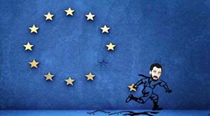 """Salvini minaccia Ue: """"Cambi o stop finanziamenti"""""""