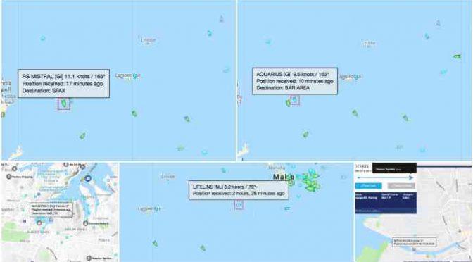 Ong assediano Italia, 5 navi a caccia di clandestini