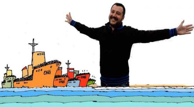 """Aquarius, Toninelli: """"Non ho chiuso io i porti, è stato Salvini a vietare sbarco clandestini"""""""