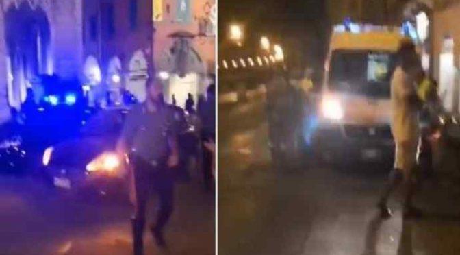 Pisa devastata da Nordafricani, arriva Salvini