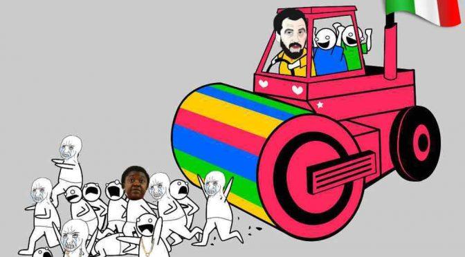 E' arrivato Salvini: Rom sgomberati da palazzo dopo 24 ore!