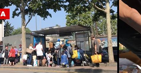 Milano, immigrati rivendono a poveri italiani cibo ricevuto in dono – VIDEO