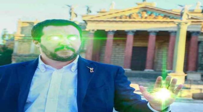 """Salvini chiama i patrioti di Forza Italia: """"Venite con noi"""""""