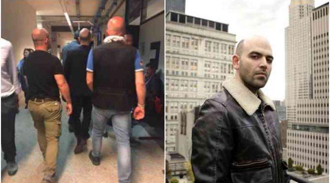 """Saviano: """"Salvini eversore in carcere"""""""