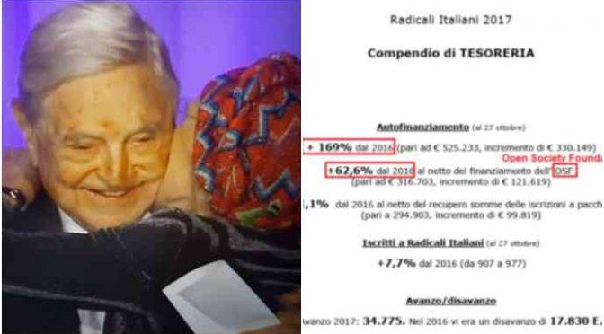Soros ha finanziato il CSX, altro che Putin e Salvini