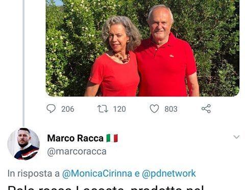 Magliette rosse radical chic dal terzo mondo