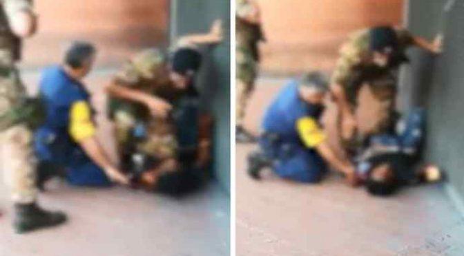 Militari fermano immigrato carico di droga, sinistra insorge – VIDEO