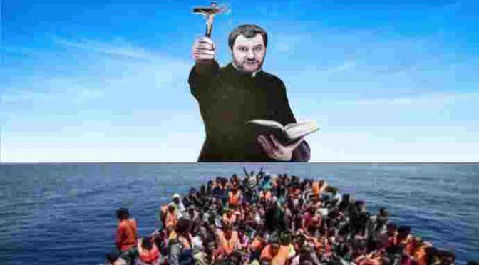 Vade retro Bergoglio: cattolici si schierano con Salvini!