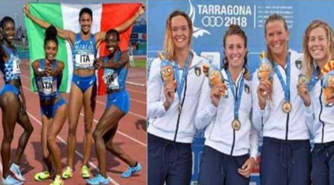 Anche 4 ragazze italiane hanno vinto l'oro, ma sono bianche