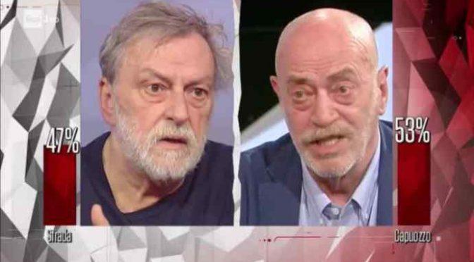 """Toni Capuozzo asfalta Gino Strada: """"Migranti che arrivano in Italia non fuggono da guerra"""""""