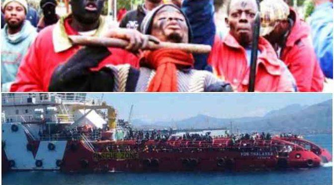 """Clandestini dirottano nave italiana: """"Portaci in Italia o ti ammazziamo"""""""