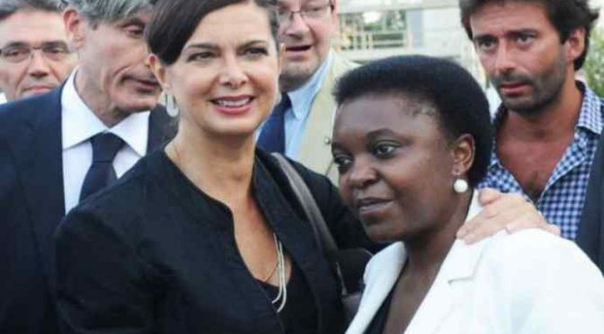 "Kyenge delirio: ""In Italia c'è l'Apartheid"" – VIDEO"