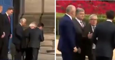 Juncker rappresenta perfettamente la UE: barcollante – VIDEO