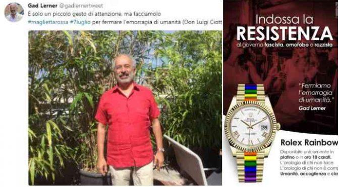 """Lerner contro la mamma di Salvini: """"Chissà cosa pensa di lui"""""""