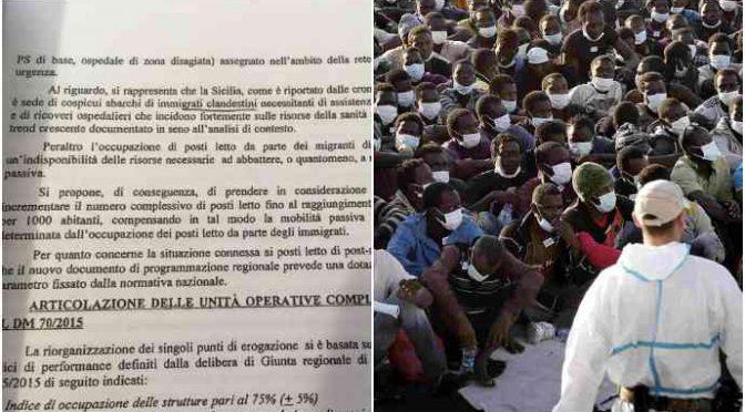 Sicilia, ospedali al collasso 'grazie' agli immigrati clandestini