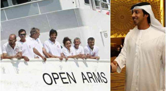 Open Arms finanziata dall'Emiro per portare i clandestini in Italia