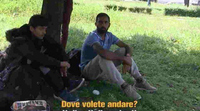 "Profughi in taxi: ""Spesi 5mila euro per arrivare dal Pakistan"" – VIDEO"