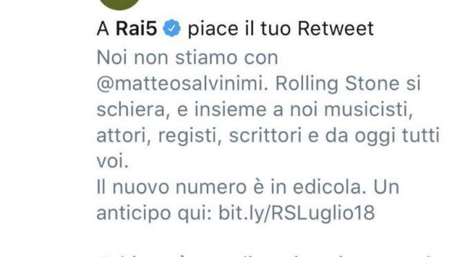 La Rai aderisce ad appello contro Salvini: bonificare la tv pubblica