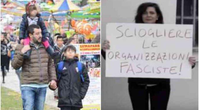 Boldrini perde la testa, mette in mezzo i figli di Salvini!