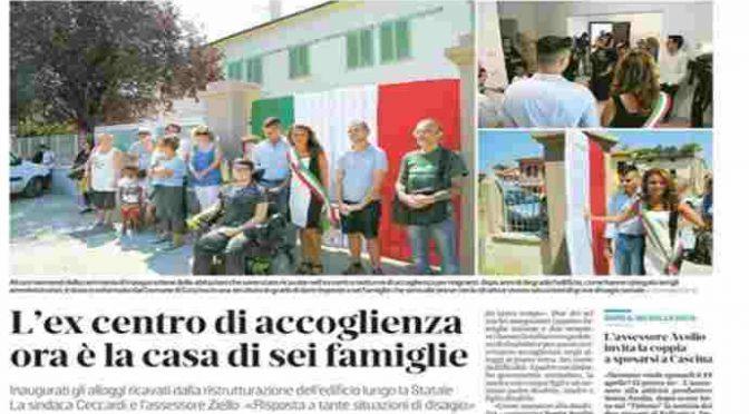 Sindaco trasforma centro per immigrati in case per italiani
