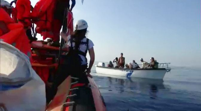 Ecco come le Ong inviano clandestini in Italia – VIDEO
