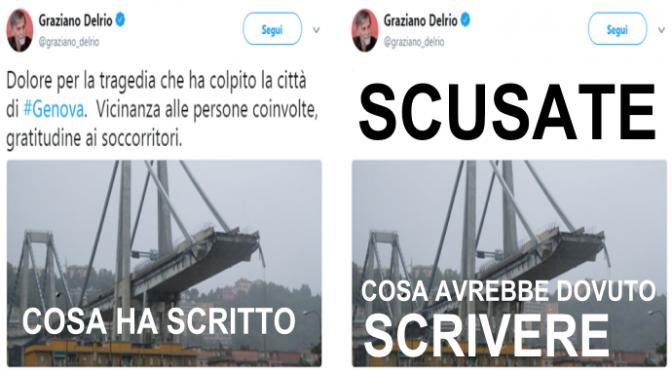 """Delrio non si scusa: """"No processi sommari"""""""