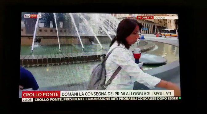 """SKY: """"lei è di Genova?"""" """"Sono il sindaco!"""" – VIDEO"""