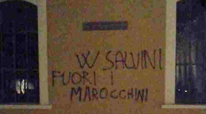 Prato, vietate scritte pro-Salvini e contro immigrati
