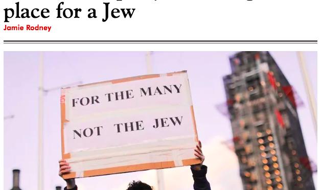 Ebreo svela: a sinistra gli antisemiti moderni
