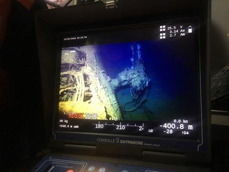 Ritrovato dopo 101 anni il sommergibile Guglielmotti