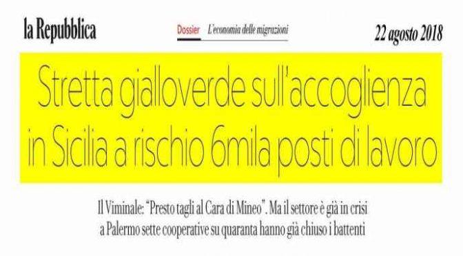 Salvini svuota Mineo: senza migranti 100 operatori licenziati