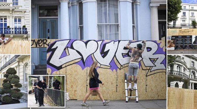 Londra: cittadini si barricano per proteggersi da 'festa afro-caraibica'