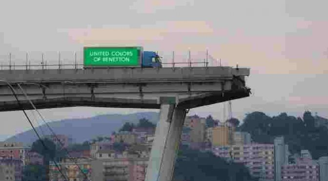 Benetton oltre al disastro anche 20 miliardi di risarcimento