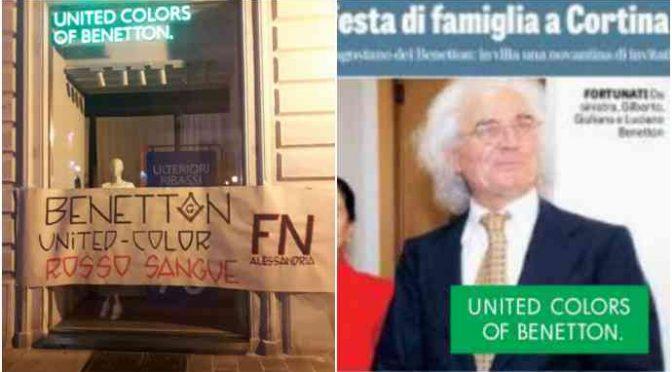 Genova, Forza Nuova invita a boicottare Benetton