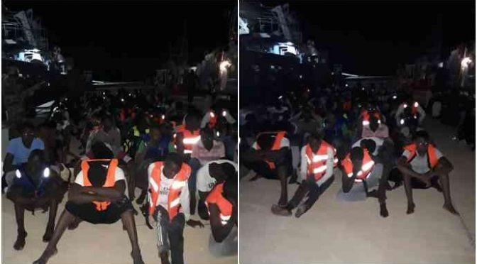Respinti in Libia 700 clandestini diretti in Italia