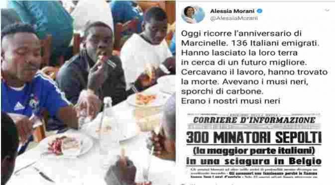 """Marcinelle, PD sputa sui morti italiani: """"I nostri musi neri"""""""