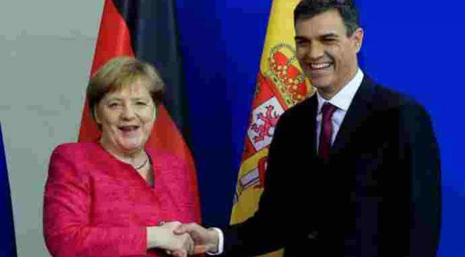 Ondata di sbarchi in Spagna, e si prendono anche i clandestini della Merkel