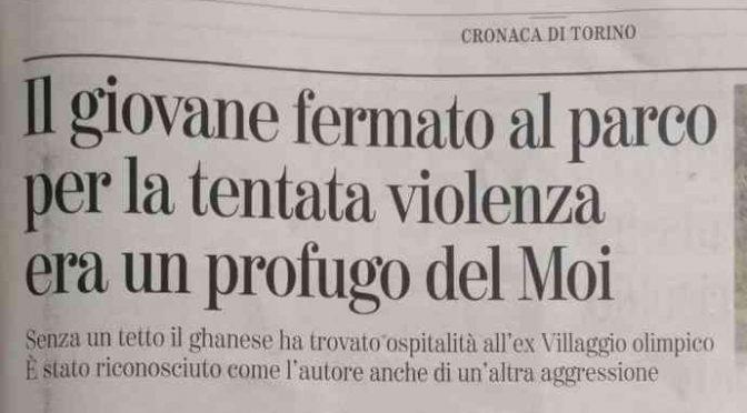 Lo stupratore seriale di Torino è un profugo, 4 stupri in 4 mesi