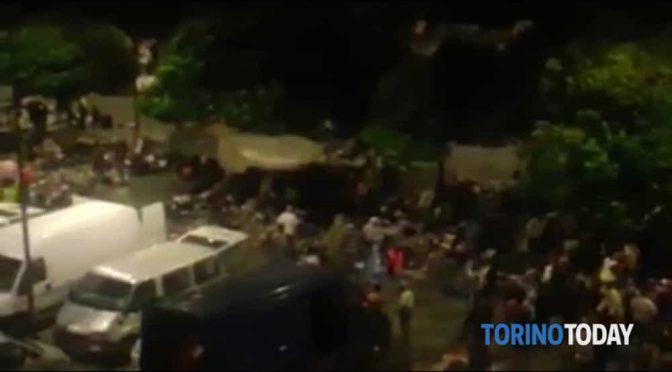 Torino ridotta a slum africano – VIDEO CHOC