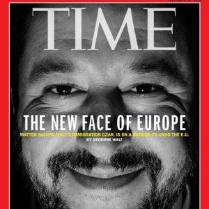 """Time celebra Salvini: """"E' il nuovo volto dell'Europa"""""""
