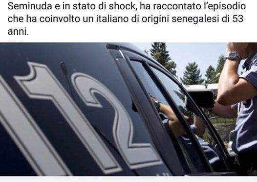 Senegalese violenta italiana: per media diventa italiano
