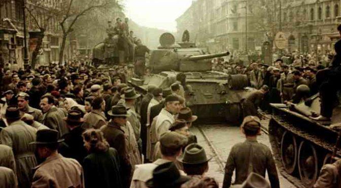 Oggi, 62 anni fa, la grande rivolta d'Ungheria