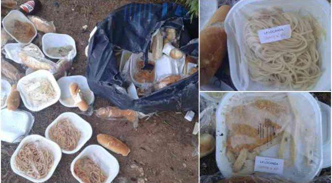 Profughi: buttano cibo a sacchi nell'immondizia – VIDEO
